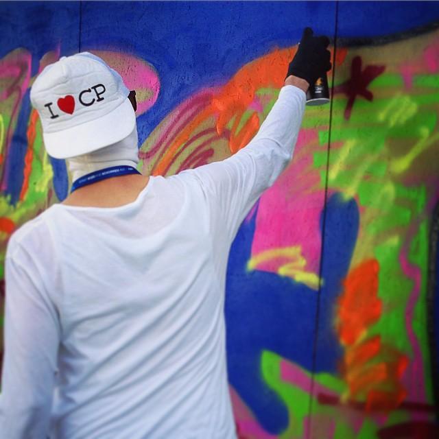 Outcast Charity Graffiti Dalarnas Museum